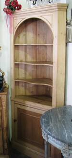 English pine Corner Shelf reproduction
