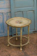 Vintage Hand-Painted Shabby Chic Petit Table $295