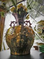 Antique Chinese Majolica Vase ~ Huge ~ $295.00