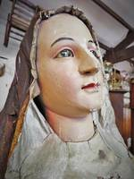 Antique Carved Santos Doll, Circa 1800. Religious Icon.  SOLD