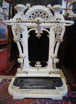 Antique Cast Iron Umbrella Stand - Museum Piece $1250.00