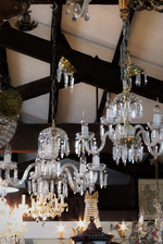 Art Deco Czechoslovakian Crystal Chandelier - $2500 each. Pair available