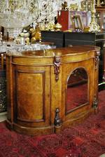 Antique  English Walnut Credenza $4500.00
