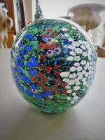 Peter Raos Monet Spring Glass Paperweight SOLD