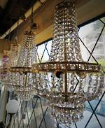 Strauss Crystal Chandeliers 3 Available $1495.00 each