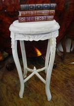 Carved French Marble topped Stand $650.00