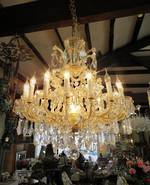 Large Preciosa Crystal Chandelier $8,500