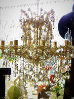 High Purity Champagne Crystal Chandelier - 8 Arm $3250.00