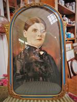 Victorian Hand Coloured Photograph Portrait $275.00