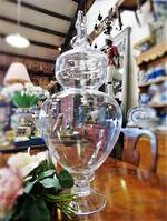 Large Chemist Apothecary Glass Jar or Lolly Jar $225