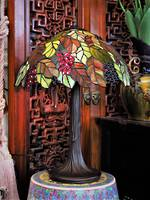 Leafy Forrest Tree Lead light Table Lamp