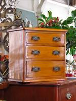 Rare New Zealand Colonial Kauri Apprentice Chest of Drawers