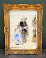 Vintage Rococo Style Gilt Framed Mirror $545.00