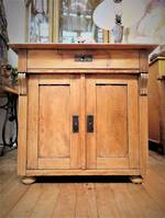 French Antique Baltic Pine Small Sideboard SOLD