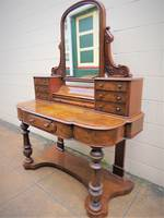 Antique English Walnut Dressing Table $2250.00