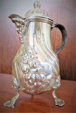 Sterling Silver Bacchus Spouted Jug  - London 1885 - SOLD