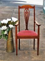 Imposing Arts & Crafts Arm Chair $350