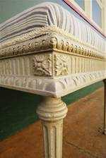 French Antique Carved Stool SOLD