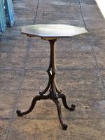 Early English Tilt Top Wine Table - Persian Walnut with Fine Parquetry Banding $950