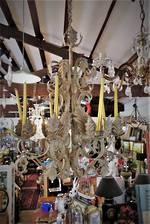 Wrought Iron Hanging Candelabra $950