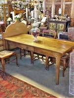 Early French Fruit Wood Provincial Farmhouse Dining Table SOLD