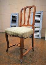 6 x French Antique Country Dining Chairs $2400