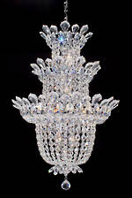 Three Tier Crystal Chandelier $3750