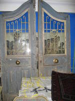 Arched Blue Doors